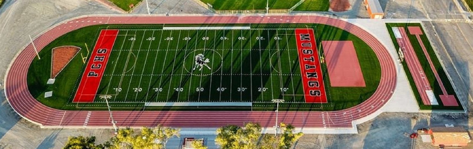 New PCSD Athletic Complex Ariel Photo