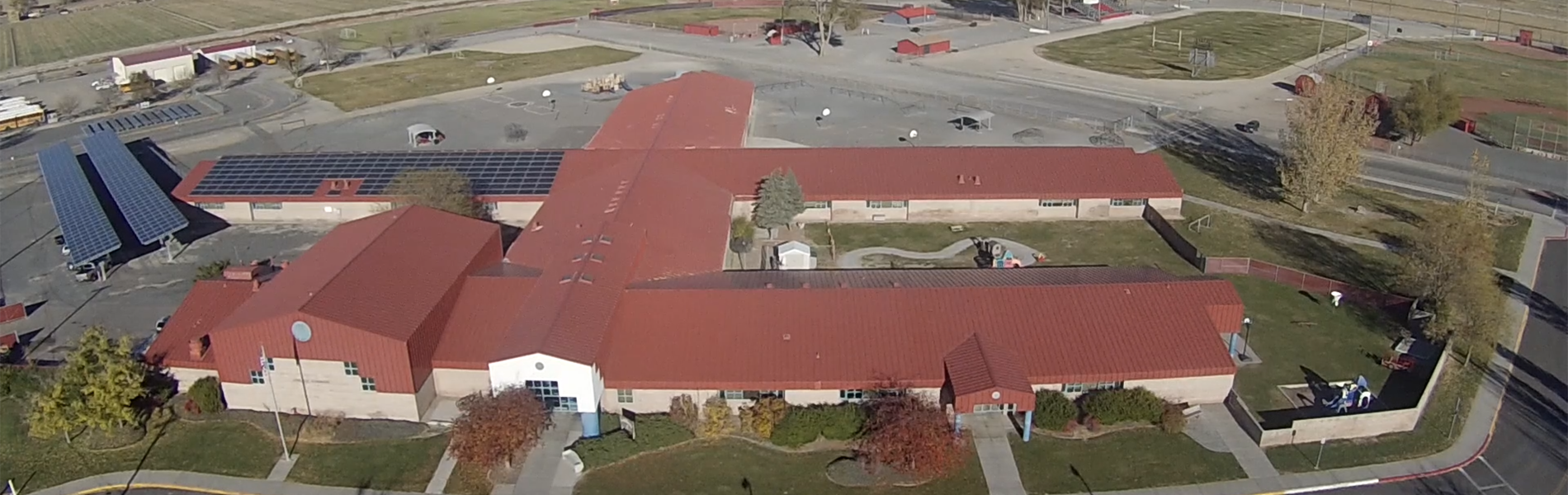 Aerial Photo of Lovelock Elementary School